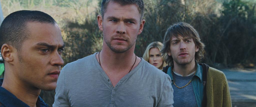 "<a href=""http://movies.yahoo.com/movie/contributor/1809982254"">Chris Hemsworth</a> in Lionsgate's <a href=""http://movies.yahoo.com/movie/1810035105/info"">The Cabin in the Woods</a> - 2012"