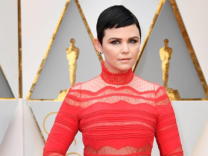 Ginnifer Goodwin Oscars 2017 Once Upon A Time, Zootopia