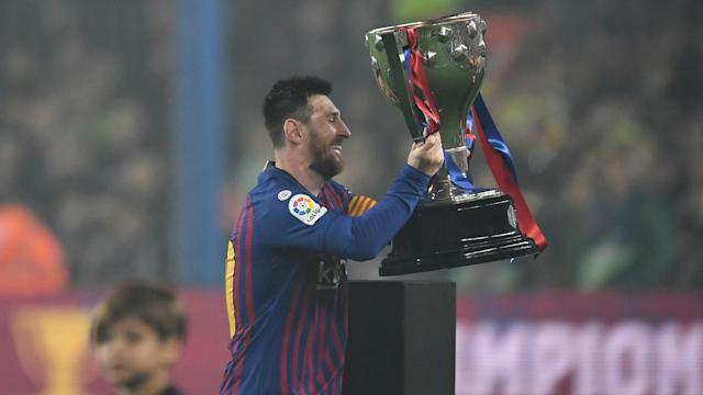 For a record sixth time, Lionel Messi was the recipient of the Ballon d'Or. We take a look at the years he has won the award.