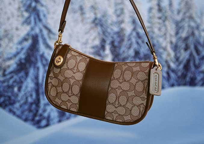 Coach's early Black Friday deals are in full swing with 50% off select styles. Image via Coach.