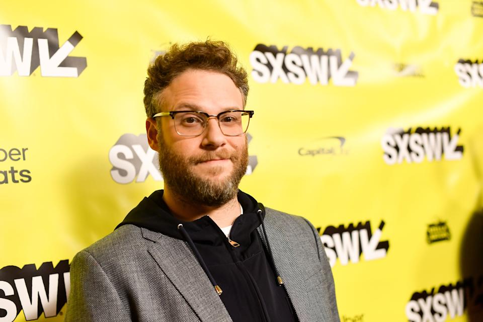 Seth Rogen, pictured here at SXSW in Austin, Texas on March 11, 2019, isn't too please with Texas senator Ted Cruz. (Photo: Matt Winkelmeyer via Getty Images)