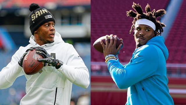 NFL Network's Michael Robinson, David Carr and DeAngelo Hall examine whether quarterback Teddy Bridgewater is an upgrade over QB Cam Newton for the Carolina Panthers.