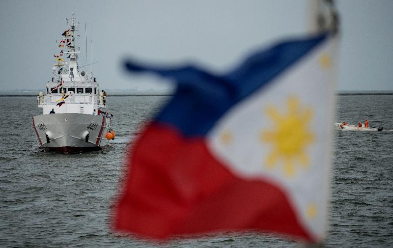 The Filipino coast guard recorded 12 piracy or kidnapping incidents in the Sibutu Passage in the last six months alone (AFP Photo/NOEL CELIS)
