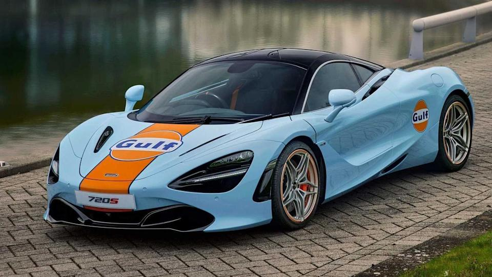 McLaren introduces one-off 720S supercar with hand-painted Gulf Oil livery