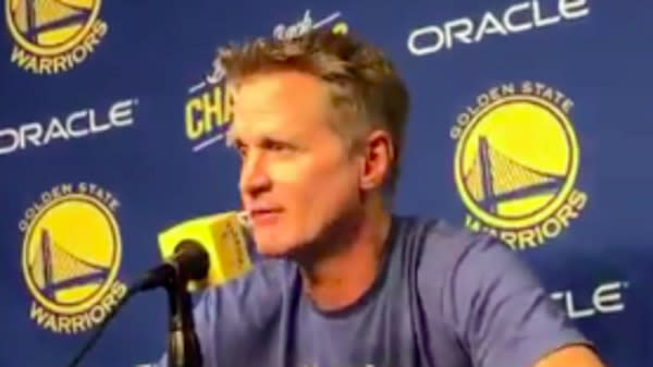NBA Coach Steve Kerr Offers New Condolences, Slams Unrelenting Mass Shootings