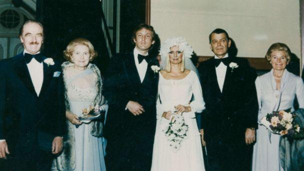 PHOTO: Ivana Trump shares a photo from her wedding to Donald Trump in 1977 featuring Fred Trump, Mary Trump, Donald Trump, Ivana Trump, Ivana's father and her aunt, from left to right. (Ivana Trump )