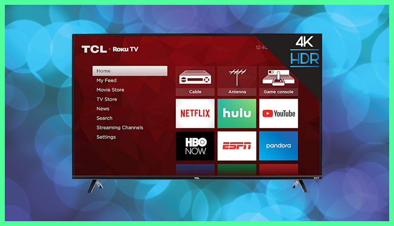 Save $101 on this TCL 43-inch 4K Ultra HD Smart Roku LED TV. (Photo: Amazon)
