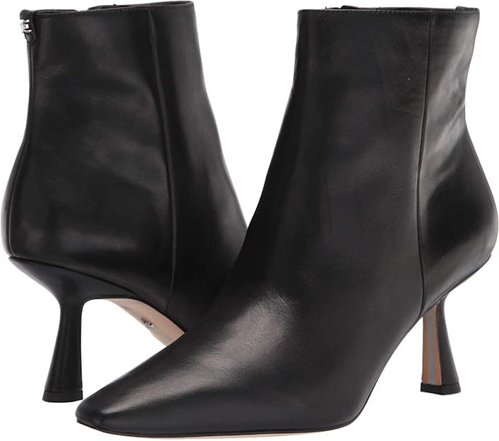 <p>These <span>Sam Edelman Samantha Boots</span> ($70) will instantly enhance your look with the tall heels and added flair. Pair them with midi dresses or your favorite jeans.</p>