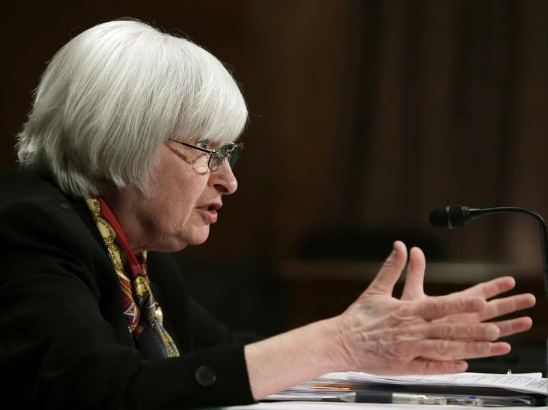 US Federal Reserve Board Chair Yellen testifies at Senate Banking Housing and Urban Affairs Committee