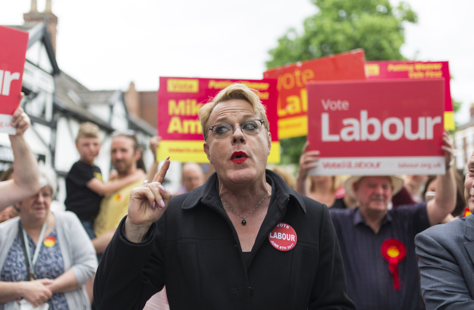 <em>Eddie Izzard is hoping to secure a place on Labour's NEC (Rex)</em>