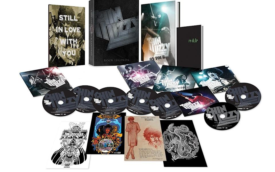 Thin Lizzy Rock Legends Ultimate Box Set