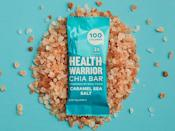 <p>These yummy <span>Health Warrior Chia Bars in Caramel Sea Salt</span> ($15) are a trusted treat that are packed with nutrients. </p>