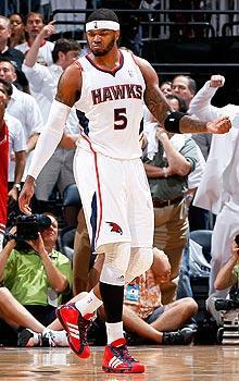 Josh Smith has spent all seven of his NBA seasons playing for the Hawks
