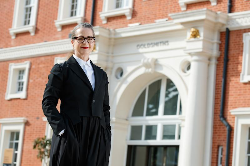 "Professor Frances Corner, new Warden of Goldsmiths said the College's staff and students ""care passionately about the future of our environment"" (Goldsmiths)"