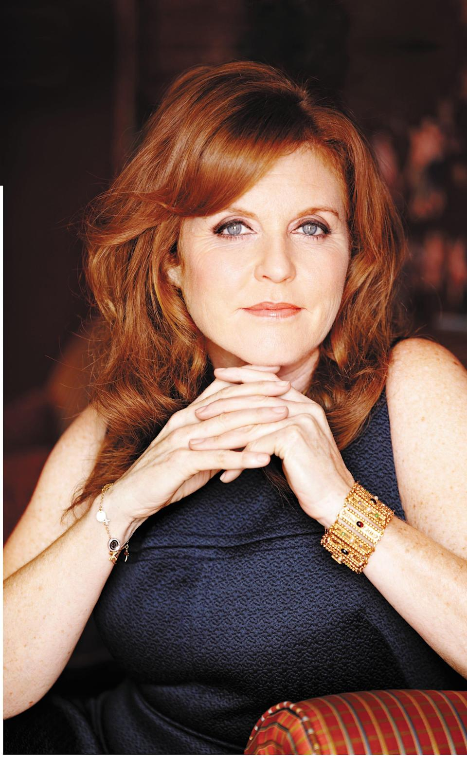 """Sarah Ferguson, Duchess of York, released her debut novel, """"Her Heart for a Compass,"""" on Tuesday."""