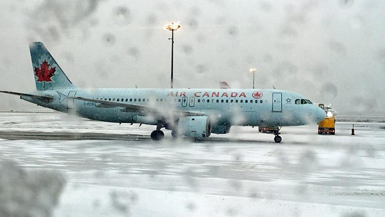 Nearly 150 flights cancelled at Toronto's Pearson airport as rain continues
