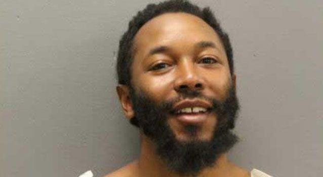 Carlton Edmondson, 26, from Chicago in the US was arrested on Saturday. Photo: Chicago Police Department