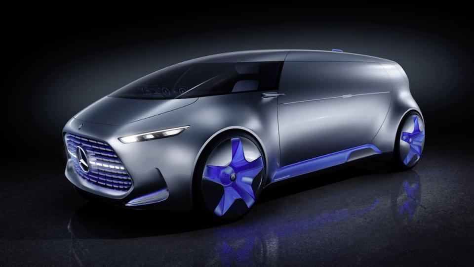 <p>The Tokyo Motor Show often features the world's wildest concepts, and in that context Mercedes' van doesn't seem so alien. Yet it posits a time where the essential act of driving has fallen to the priority level we assign household chores today—something to be dispensed with by machine, while we rave on.<br></p>