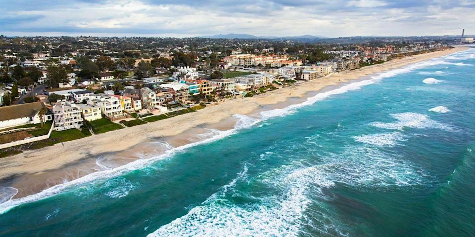 """<p><strong>Best for Nostalgia <br></strong></p><p>This beach has good swimming and a fun boardwalk scene, making it one of SoCal's best beaches, especially for families. One of <a href=""""https://go.redirectingat.com?id=74968X1596630&url=https%3A%2F%2Fwww.tripadvisor.com%2FAttraction_Review-g60750-d104125-Reviews-Mission_Beach-San_Diego_California.html&sref=https%3A%2F%2Fwww.redbookmag.com%2Flife%2Fg37132327%2Ftop-california-beach-vacations%2F"""" rel=""""nofollow noopener"""" target=""""_blank"""" data-ylk=""""slk:Mission Beach's"""" class=""""link rapid-noclick-resp"""">Mission Beach's</a> most beloved aspects is <a href=""""https://go.redirectingat.com?id=74968X1596630&url=https%3A%2F%2Fwww.tripadvisor.com%2FAttraction_Review-g60750-d104585-Reviews-Belmont_Park-San_Diego_California.html&sref=https%3A%2F%2Fwww.redbookmag.com%2Flife%2Fg37132327%2Ftop-california-beach-vacations%2F"""" rel=""""nofollow noopener"""" target=""""_blank"""" data-ylk=""""slk:Belmont Park"""" class=""""link rapid-noclick-resp"""">Belmont Park</a>, an historic amusement park. A ride on the Giant Dipper — a wooden roller coaster operating since 1925 — is a must, and there are also arcade games, mini golf, and classic eats like cotton candy and fudge. </p><p><strong><em>Where to Stay: </em></strong><a href=""""https://go.redirectingat.com?id=74968X1596630&url=https%3A%2F%2Fwww.tripadvisor.com%2FHotel_Review-g60750-d80193-Reviews-Hyatt_Regency_Mission_Bay-San_Diego_California.html&sref=https%3A%2F%2Fwww.redbookmag.com%2Flife%2Fg37132327%2Ftop-california-beach-vacations%2F"""" rel=""""nofollow noopener"""" target=""""_blank"""" data-ylk=""""slk:Hyatt Regency Mission Bay Spa and Marina"""" class=""""link rapid-noclick-resp"""">Hyatt Regency Mission Bay Spa and Marina</a>, <a href=""""https://go.redirectingat.com?id=74968X1596630&url=https%3A%2F%2Fwww.tripadvisor.com%2FHotel_Review-g60750-d625335-Reviews-Andaz_San_Diego-San_Diego_California.html&sref=https%3A%2F%2Fwww.redbookmag.com%2Flife%2Fg37132327%2Ftop-california-beach-vacations%2F"""" rel=""""nofollow noopener"""" target=""""_blank"""" data-ylk="""