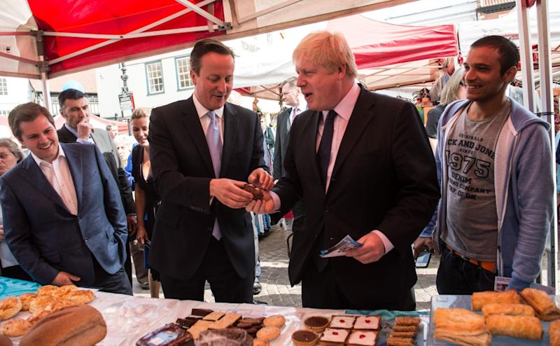 David Cameron and Boris Johnson Don't See Problem With Their £160,000 Oligarch Tennis Match