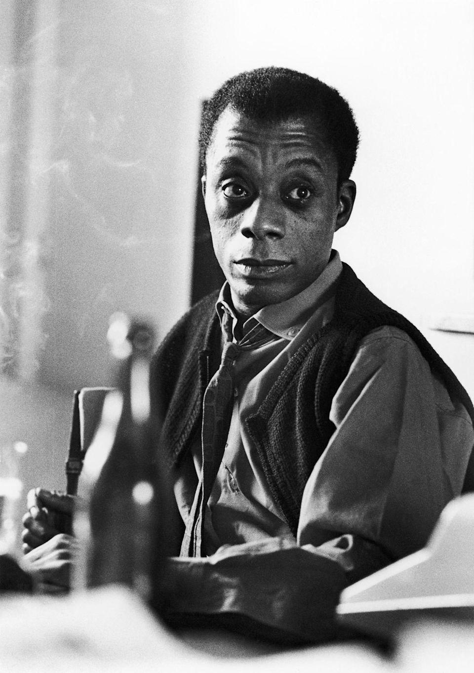 """<p>Baldwin is one of the greatest American writers of all time (and a <a href=""""https://www.esquire.com/author/8588/james-baldwin/"""" rel=""""nofollow noopener"""" target=""""_blank"""" data-ylk=""""slk:frequent Esquire contributor"""" class=""""link rapid-noclick-resp"""">frequent Esquire contributor</a>) who, a year before turning 40, was on the cover of <em>Time</em> magazine. </p>"""