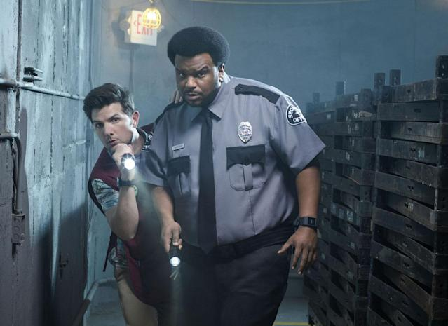 Adam Scott and Craig Robinson star in Fox's <em>Ghosted.</em> (Photo: Scott Council/Fox)