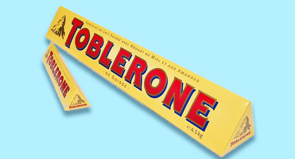The giant Toblerone will set you back almost fifty quid. [Photo: Toblerone]