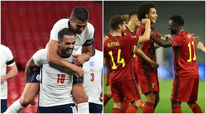England vs Belgium Live Streaming Online, UEFA Nations League 2020–21: Get Match Free Telecast Time in IST and TV Channels to Watch in India
