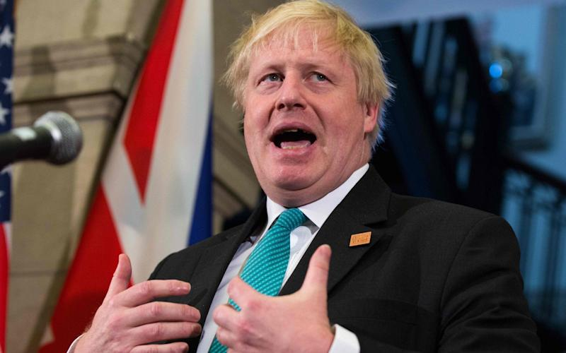 Boris Johnson, the Foreign Secretary - AFP