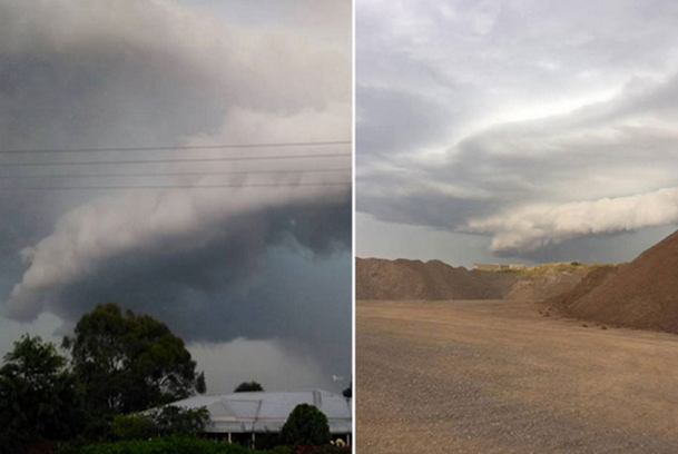 The storm sparked hundreds of asthma attacks in the area. Photo: Twitter.
