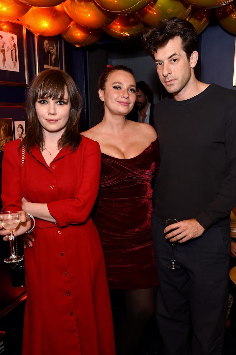 (L-R) Rose Elinor Dougall, Gizzi Erskine and Mark Ronson (Dave Benett/Getty Images)