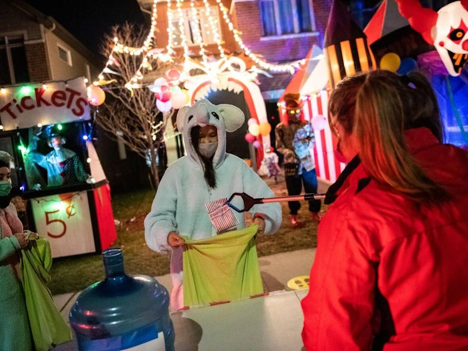 Ottawa's medical officer of health Dr. Vera Etches says trick-or-treating is back in 2021. (Justin Tang/Canadian Press - image credit)