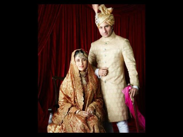 """<b>1. Kareena Kapoor</b><br> It was one of the most talked about weddings in India ever. As Kareena jokingly but rightly pointed out - """"Even Obama knows about Saif-Kareena wedding, and the parliament should discuss it"""". So, there is no surprise that it makes to our list."""