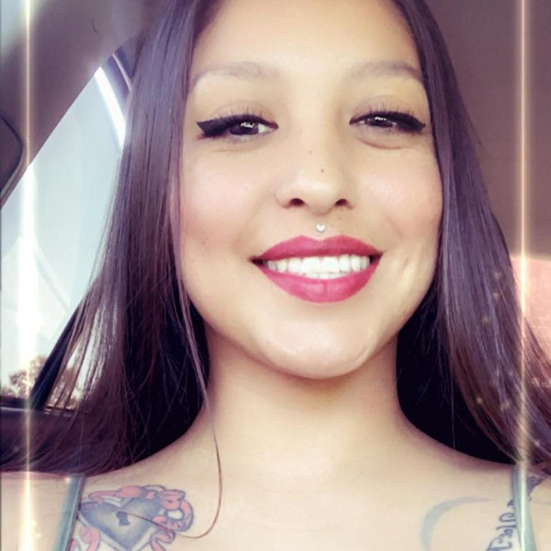 Photo of Gloria Elisa Fuentes who claimed an Apple employee sent himself one of her personal photos.
