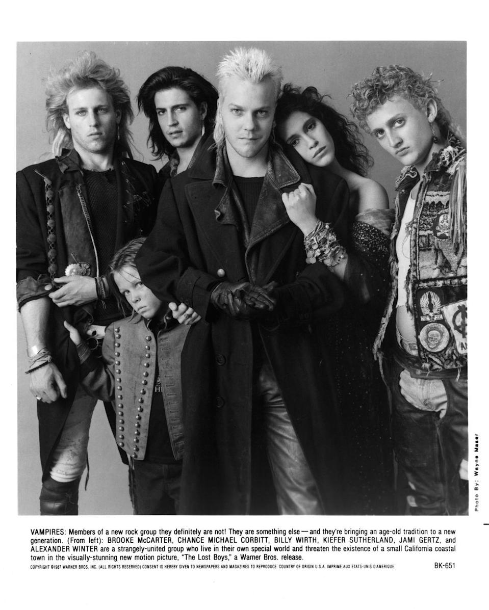 <p>When <em>Lost Boys </em>premiered in 1987, the film's edgy characters and unique sub-genre of comedy and horror called on the widespread culture shift happening in the late '80s. The film, starring Kiefer Sutherland, not only did well at the time, but has maintained a steady fanbase as a cult classic. </p>