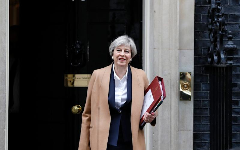 Theresa May, Prime Minister - AP