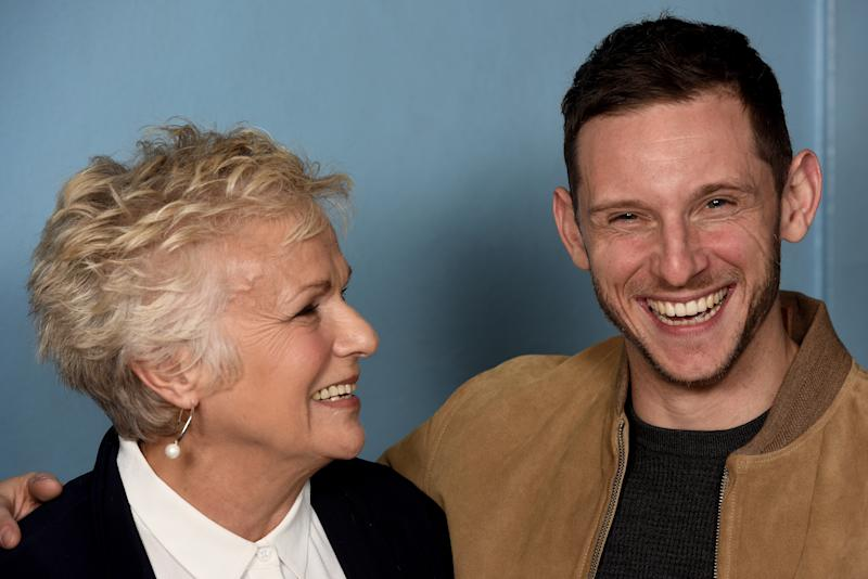 LONDON, ENGLAND - NOVEMBER 26: Julie Walters (L) and Jamie Bell attend the 'Film Stars Don't Die In Liverpool' Screening and Q&A at Empire Haymarket on November 26, 2017 in London, England. (Photo by Dave J Hogan/Dave J Hogan/Getty Images)