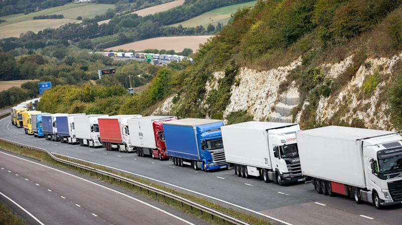 Operation Stack activated due to strike in Calais