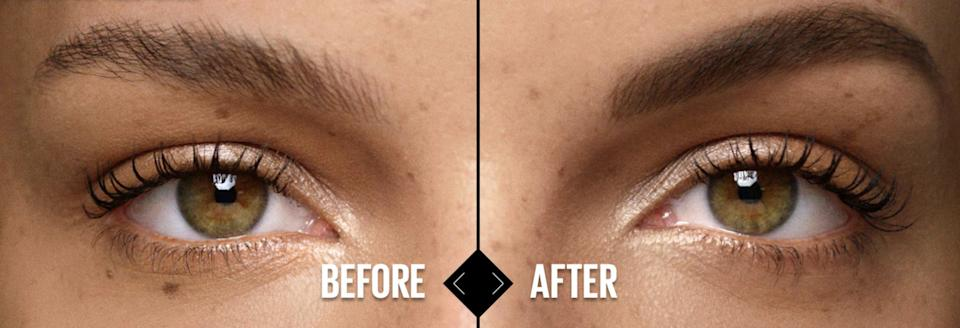 """Give your brows a little definition and shaping, thanks to teardrop tip and spoolie brush that'll help fill in sparse areas.<br /><br /><strong>Promising review:</strong>""""I saw this product being touted on television and decided to try it. I had been using a $24 eyebrow pencil and simply could not find an even replacement until I ordered Maybelline's Total Temptation Eyebrow Pencil! My eyebrows have thinned over the years and it's been difficult finding a reasonably priced pencil that fits the bill.<strong>This pencil is very easy to use, looks very natural and stays on until I wash my face at night.</strong>I absolutely love this product and I'm saving money! Double win!"""" —<a href=""""https://www.amazon.com/dp/B074VGYK4X?tag=huffpost-bfsyndication-20&ascsubtag=5815832%2C22%2C36%2Cd%2C0%2C0%2C0%2C962%3A1%3B901%3A2%3B900%3A2%3B974%3A3%3B975%3A2%3B982%3A2%2C16164934%2C0"""" target=""""_blank"""" rel=""""nofollow noopener noreferrer"""" data-skimlinks-tracking=""""5892167"""" data-vars-affiliate=""""Amazon"""" data-vars-href=""""https://www.amazon.com/gp/customer-reviews/R1SBGH2JNBP7L9?tag=bfemmalord-20&ascsubtag=5892167%2C20%2C50%2Cmobile_web%2C0%2C0%2C16502812"""" data-vars-keywords=""""cleaning,fast fashion,skincare"""" data-vars-link-id=""""16502812"""" data-vars-price="""""""" data-vars-product-id=""""20957448"""" data-vars-product-img="""""""" data-vars-product-title="""""""" data-vars-retailers=""""Amazon"""">Melissa</a><br /><br /><strong>Get it from Amazon for<a href=""""https://www.amazon.com/dp/B074VGYK4X?tag=huffpost-bfsyndication-20&ascsubtag=5815832%2C22%2C36%2Cd%2C0%2C0%2C0%2C962%3A1%3B901%3A2%3B900%3A2%3B974%3A3%3B975%3A2%3B982%3A2%2C16164934%2C0"""" target=""""_blank"""" rel=""""nofollow noopener noreferrer"""" data-skimlinks-tracking=""""5892167"""" data-vars-affiliate=""""Amazon"""" data-vars-asin=""""B074VGYK4X"""" data-vars-href=""""https://www.amazon.com/dp/B074VGYK4X?tag=bfemmalord-20&ascsubtag=5892167%2C20%2C50%2Cmobile_web%2C0%2C0%2C16502793"""" data-vars-keywords=""""cleaning,fast fashion,skincare"""" data-vars-link-id=""""16502793"""" data-vars-price="""""""" data-vars-product-"""