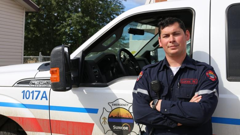 Firefighter's faith grows stronger after battle with 'the Beast'