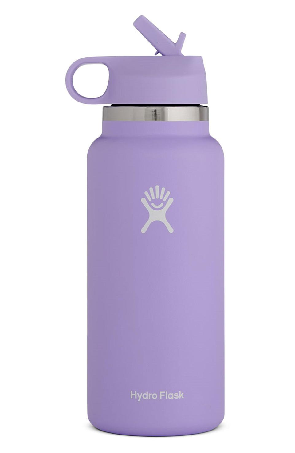 """<p><strong>HYDRO FLASK</strong></p><p>nordstrom.com</p><p><strong>$32.90</strong></p><p><a href=""""https://go.redirectingat.com?id=74968X1596630&url=https%3A%2F%2Fwww.nordstrom.com%2Fs%2Fhydro-flask-32-ounce-wide-mouth-bottle-with-straw-lid-nordstrom-exclusive-color%2F5566935&sref=https%3A%2F%2Fwww.womenshealthmag.com%2Flife%2Fg33415769%2Fnordstrom-anniversay-sale-preview%2F"""" rel=""""nofollow noopener"""" target=""""_blank"""" data-ylk=""""slk:Shop Now"""" class=""""link rapid-noclick-resp"""">Shop Now</a></p><p>If your old water bottle is looking like it's seen better days, make sure you shop the Nordstrom sale. Originally $49.95, this Hydro Flask bottle will be on sale for $32.90. </p>"""