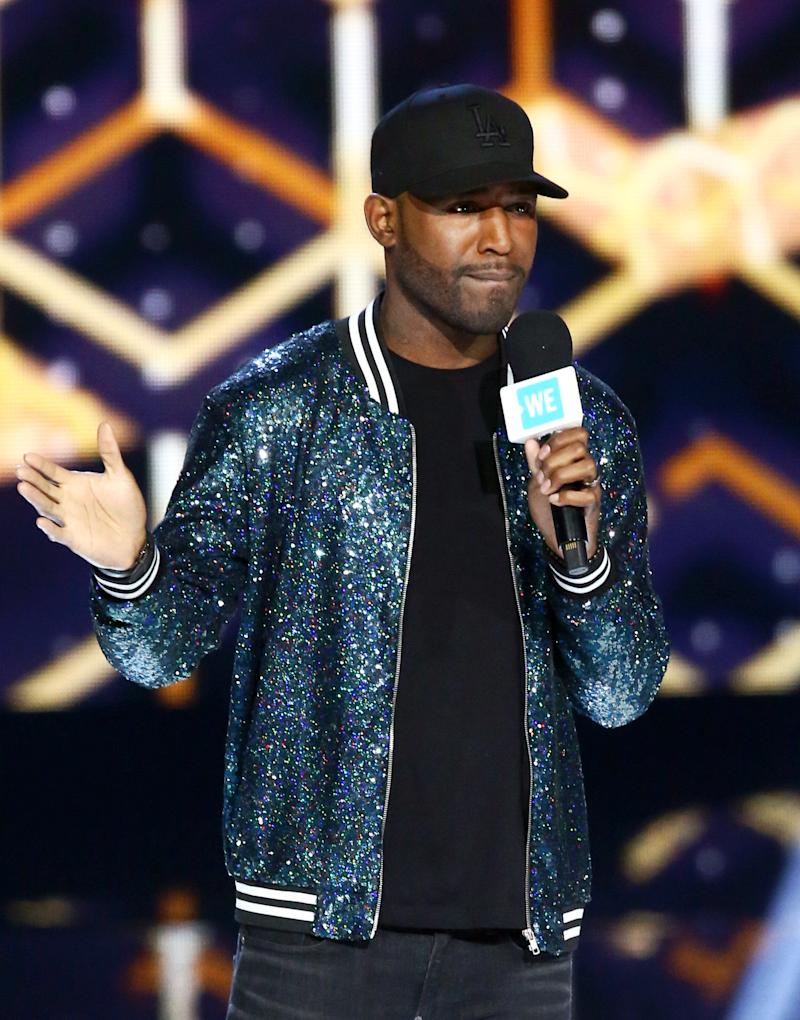 Karamo Brown speaks onstage at WE Day California at The Forum on April 25, 2019. (Photo: Tommaso Boddi/Getty Images for WE Day)