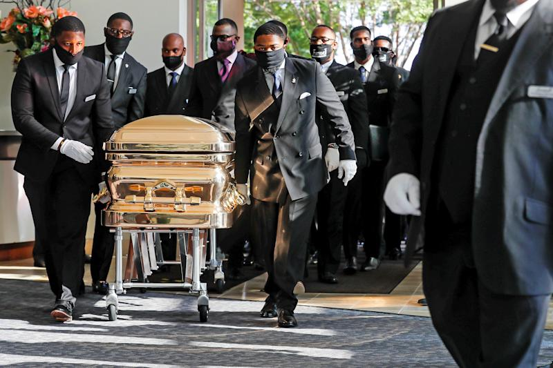 Image: Funeral for George Floyd in Houston (Godofredo A. Vasquez / Pool via Reuters)