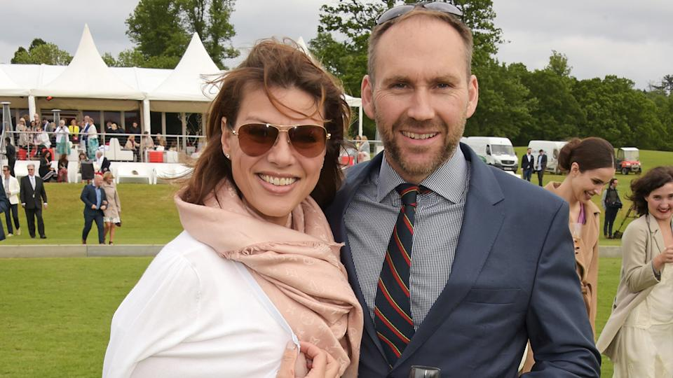 Kate Silverton finally walked down the aisle with Mike Heron in 2010 (image: Getty Images)