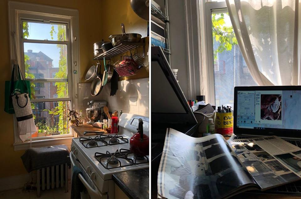 """Sydney Ellison, a student at Pratt Institute in New York City, has been living in Brooklyn and studying remotely while classes remain virtual this fall<span class=""""copyright"""">Courtesy Sydney Ellison</span>"""