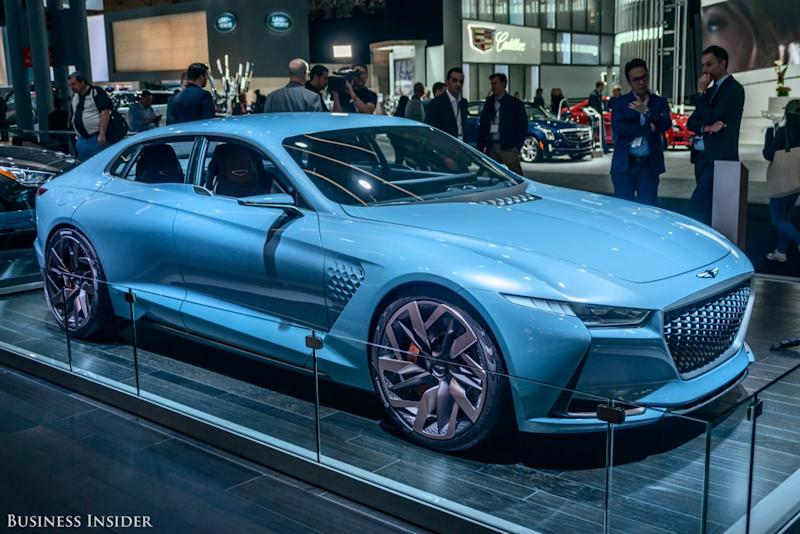 This Car Took The New York Auto Show By Storm And Is The Future Of A - Luxury car show