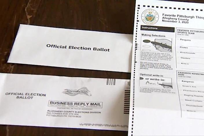 Fears of uncounted votes after Pennsylvania naked ballot