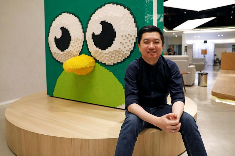 Founder and CEO of Indonesian e-commerce firm Tokopedia, William Tanuwijaya, poses for a photograph at Tokopedia headquarters in Jakarta, Indonesia, July 25, 2019. Picture taken July 25, 2019. REUTERS/Willy Kurniawan