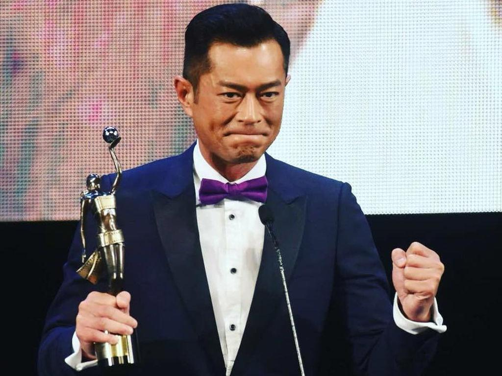 "The actor won the coveted accolade at the 37th Hong Kong Film Awards for his role in ""Paradox"""