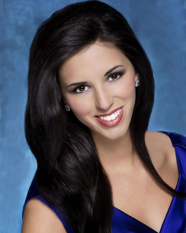 "Miss New Hampshire, Regan Elizabeth Hartley is a contestant in the ""<a href=""/2012-miss-america-pageant/show/48165"">2012 Miss America Pageant</a>."""